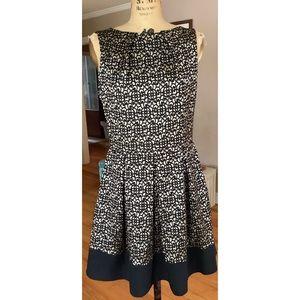 Closet London Gold Black Sleeveless Dress 14